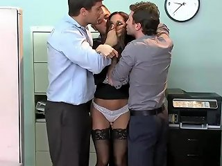 Sensual Girl Fucked By Three Guys