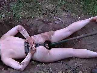 Chained Slave Getting Messy When Tortured Badly In Bdsm Any Porn