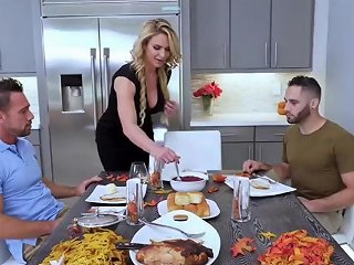 Bathing With Step Daddy XXX Army Boy Meets Busty Stepmom Porn Video 241
