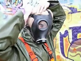 Rainwear And Gasmask