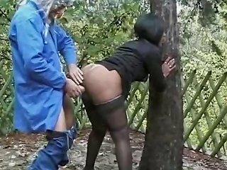 Sexy Ebony Fucked Outdoor Drtuber