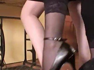 Serbian Ladys Trampling Slave So Badly
