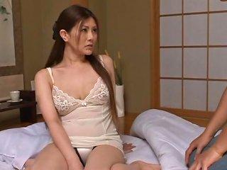 Japanese Milf Enjoys Getting Banged Hard Doggystyle