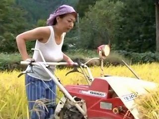 Japanese Mom Ayano Murasaki Rubs Her Tits And Pees In The Field